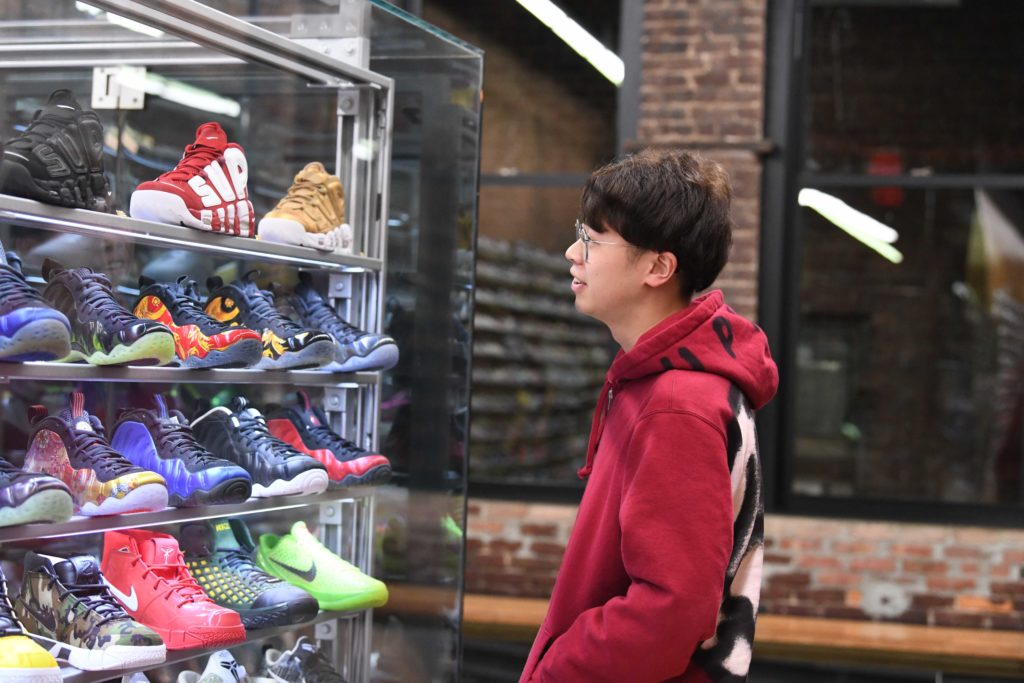 Chinese Millennial Sneaker Heads Fuel